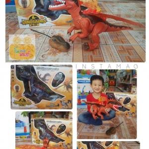 ชุดของเล่นไดโนเสาร์ตัวใหญ่ พร้อมรีโมทบังคับ
