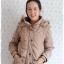 ((ขายแล้วครับ))((คุณแมมมอธจองครับ))ca- 2733 เสื้อโค้ทกันหนาวสีกากี รอบอก40 thumbnail 1
