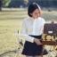กระเป๋าเป้ยี่ห้อ Super Lover สไตล์เกาหลีใต้ ลายไข่วงกลมสีเหลือง มีช่องใส่โน้ตบุ๊ค (Preorder) thumbnail 7