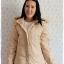 ((ขายแล้วครับ))ca-2551 เสื้อโค้ทกันหนาวผ้าร่มขนเป็ดสีกากี รอบอก40 thumbnail 1