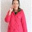 ((ขายแล้วครับ))((จองแล้วครับ))ca-2727 เสื้อโค้ทกันหนาวสีชมพู รอบอก38 thumbnail 1
