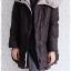 ((ขายแล้วครับ))((คุณSuchittraจองครับ))ca-2900 เสื้อโค้ทขนเป็ดสีดำ รอบอก38 thumbnail 3