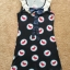Miss selfridge Bird Navy shit Dress size uk8-uk10 thumbnail 2