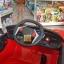 รถแบตเตอรี่เด็กทรงแลมโบ ประตูปีกนก LN4555 สีแดง thumbnail 4