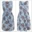 Miss Selfridge Floral Denim Dress size uk8=1 uk10=1 uk12=1 thumbnail 2