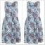 Miss Selfridge Floral Denim Dress size uk8=1 uk10=1 uk12=1 thumbnail 1