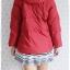 ((ขายแล้วครับ))ca-2773 เสื้อโค้ทขนเป็ดสีแดง รอบอก40 thumbnail 2