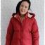 ((ขายแล้วครับ))ca-2773 เสื้อโค้ทขนเป็ดสีแดง รอบอก40 thumbnail 1