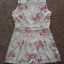 Topshop Lila Floral Playsuit Size uk12 thumbnail 3