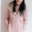((ขายแล้วครับ))((จองแล้วครับ))ca-2831 เสื้อโค้ทกันหนาวผ้าร่มีชมพู รอบอก36 thumbnail 1