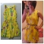 Primark Floral Yellow Dress Size uk10 thumbnail 2