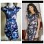 ASOS Floral Cap Sleeve Dress Size uk8 thumbnail 4