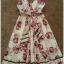 Miss selffridge Floral Flower Rose Holiday summer Dress Size uk10 thumbnail 3