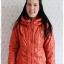 ((ขายแล้วครับ))ca-2827 เสื้อโค้ทกันหนาวผ้าร่มสีส้ม รอบอก38 thumbnail 1