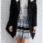 ((ขายแล้วครับ))(คุณjimmyจองครับ))ca-2784 เสื้อโค้ทขนเป็ดสีดำ รอบอก40 thumbnail 3