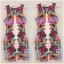 Lipsy bodycon Floral print dress Size UK10 thumbnail 2