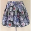 Topshop Floral Skirt Size UK 12 thumbnail 1