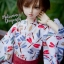 MSD Yukata Set - Midsummer Dragonfly (Shiro) thumbnail 3