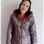 ((ขายแล้วครับ))ca-2824 เสื้อโค้ทกันหนาวผ้าร่มสีเทาเหลีอบแดง รอบอก37 thumbnail 1