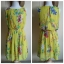 Primark Floral Yellow Dress Size uk10 thumbnail 3