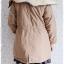 ((ขายแล้วครับ))((จองแล้วครับ))ca-2928 เสื้อโค้ทผ้าร่มสีกากี รอบอก42 thumbnail 2