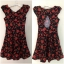 Louche Joy Lillie Rose Dress size uk8 thumbnail 4