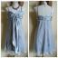 Lipsy Silver Evening Dress Size S thumbnail 1