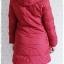 ((ขายแล้วครับ))((จองแล้วครับ))ca-2802 เสื้อโค้ทขนเป็ดสีแดง รอบอก38 thumbnail 2