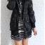 ((ขายแล้วครับ))((จองแล้วครับ))ca-2737 เสื้อโค้ทกันหนาวสีดำ รอบอก34-36 thumbnail 3