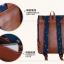 """กระเป๋าเป้สะพาย ยี่ห้อ Superlover สไตส์ญี่ปุ่น มีช่องใส่ Notebook14"""" สีน้ำเงินดอกไม้ (Pre-Order) ใบเล็ก thumbnail 11"""