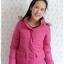 ((ขายแล้วครับ))((คุณJennyจองครับ))ca-2748 เสื้อโค้ทขนเป็ดสีชมพู รอบอก36 thumbnail 1