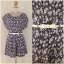 Yumi Playsuit Floral with Belt Size uk10 thumbnail 3