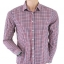 Topman Red/Blue Checked Shirt Size M thumbnail 1