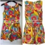 River island Bright Print Playsuit Size uk8 thumbnail 2