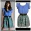 Yumi Frill Sleeve Dress Size S/M thumbnail 3