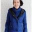 ((ขายแล้วครับ))ca-2897 เสื้อโค้ทขนเป็ดสีน้ำเงิน รอบอก37 thumbnail 1