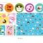 ผ้าสักหลาดเกาหลี ลาย Soul mate size 1 mm (Pre-order) ขนาด 45x30cm thumbnail 8