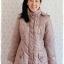 ((ขายแล้วครับ))((จองแล้วครับ))ca-2883 เสื้อโค้ทขนเป็ดสีเบจ รอบอก41 thumbnail 1
