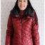 ((ขายแล้วครับ))((จองแล้วครับ))ca-2829 เสื้อโค้ทกันหนาวผ้าร่มสีไวน์แดง รอบอก36 thumbnail 1