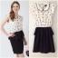 ํYumi Black and white Dress Size uk S thumbnail 1