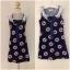 Miss selfridge Bird Navy shit Dress size uk8-uk10 thumbnail 1
