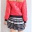 ((ขายแล้วครับ))((จองแล้วครับ))ca-2726 เสื้อแจ๊คเก็ตกันหนาวสีแดง รอบอก38 thumbnail 2