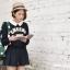 กระเป๋าเป้ยี่ห้อ Super Lover มินิ Retro Polka Dot สไตล์ญี่ปุ่นป่า (Preorder) thumbnail 6
