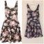 Topshop floral dress พร้อมส่ง uk 10 thumbnail 1