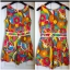 River island Bright Print Playsuit Size uk8 thumbnail 4