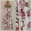 Miss selffridge Floral Flower Rose Holiday summer Dress Size uk10 thumbnail 1