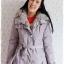 ((ขายแล้วครับ))ca-2830 เสื้อโค้ทกันหนาวผ้าร่มสีเทา รอบอก41 thumbnail 1