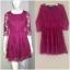 Warehouse pink Dress uk12 thumbnail 1