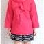 ((ขายแล้วครับ))((จองแล้วครับ))ca-2727 เสื้อโค้ทกันหนาวสีชมพู รอบอก38 thumbnail 2