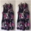 Playsuit Rose Floral Topshop Uk12 thumbnail 1